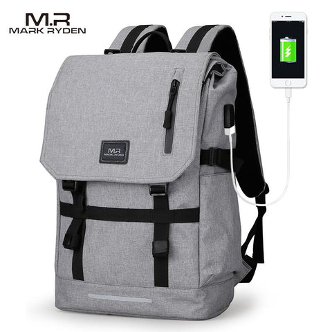 MARK RYDEN Modern Backpack-bag-bagprime-Black USB-China-15inches-BagPrime - Global Prime Bag Fashion Platform