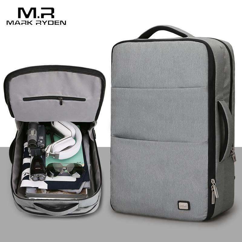 MARK RYDEN Waterproof 17 Inches Laptop Backpack-bag-BagPrime - Global Prime Bag Fashion Platform-Black USB 15 Inches-Russian Federation-17 Inches-BagPrime - Global Prime Bag Fashion Platform