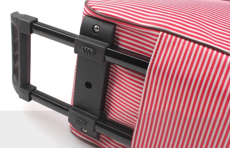Casual Stylish Trolley Travel Bag - Close View