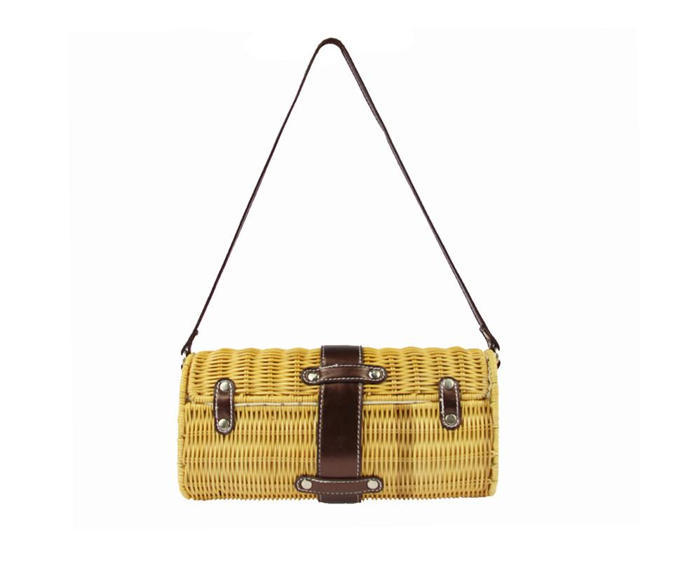 MICOM Woven Basket Bag - BagPrime - Look Your Best with Amazing Bags