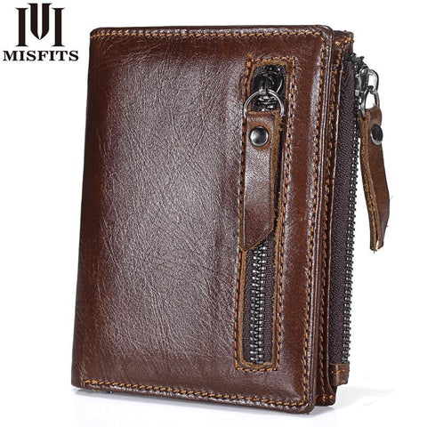 MISFITS Edgy Vintage Wallet - BagPrime - Look Your Best with Amazing Bags