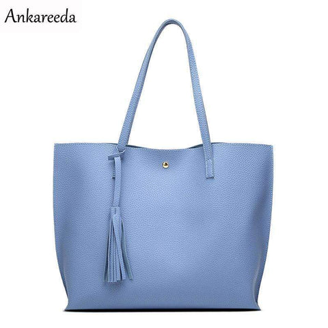 Modern Tote Bag with Tassel - BagPrime - Look Your Best with Amazing Bags
