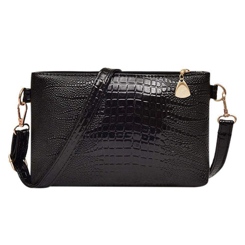 MOJOYCE Crocodile Patterned Crossbody Bag - BagPrime - Look Your Best with Amazing Bags