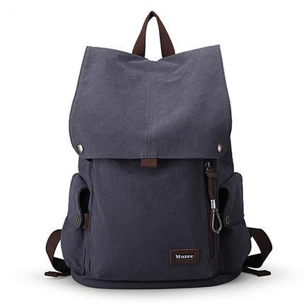MUZEE Retro Cool Backpack-bag-BagPrime - Global Prime Bag Fashion Platform-Blue Black-China-15 Inches-BagPrime - Global Prime Bag Fashion Platform