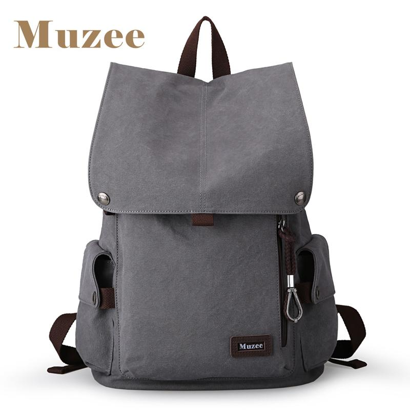 MUZEE Retro Cool Backpack-bag-BagPrime - Global Prime Bag Fashion Platform-New Gray-China-15 Inches-BagPrime - Global Prime Bag Fashion Platform