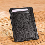 NEWBRING Slim Leather Wallet - BagPrime - Look Your Best with Amazing Bags