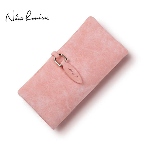 NICO LOUISE Chic Feminine Leaf Design Wallet