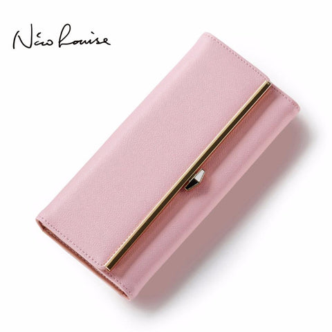 NICO LOUISE Elegant Leather Wallet