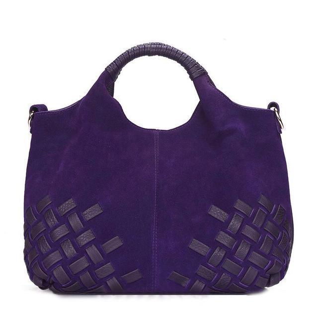 NICO LOUISE Woven Top Handle Bag - BagPrime - Look Your Best with Amazing Bags