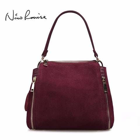 NICO LOUISE Zipped Shoulder Bag - BagPrime - Look Your Best with Amazing Bags