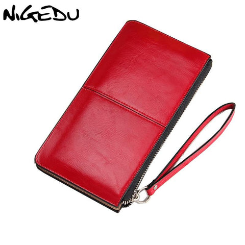 NIGEDU Classic Wristlet Wallet - BagPrime - Look Your Best with Amazing Bags