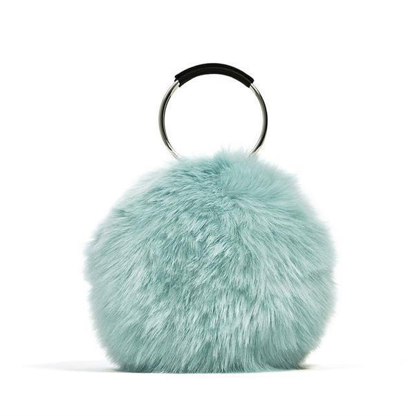 NIGEDU Cute Fur Ring Bag - BagPrime - Look Your Best with Amazing Bags