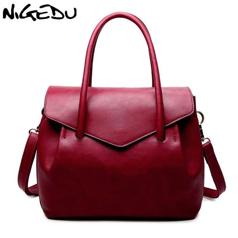 NIGEDU Modern Classic Shoulder Bag - BagPrime - Look Your Best with Amazing Bags