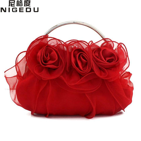 NIGEDU Rose Flower Bag - BagPrime - Look Your Best with Amazing Bags