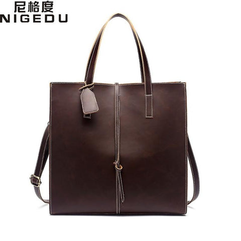NIGEDU Vintage Tote Bag - BagPrime - Look Your Best with Amazing Bags