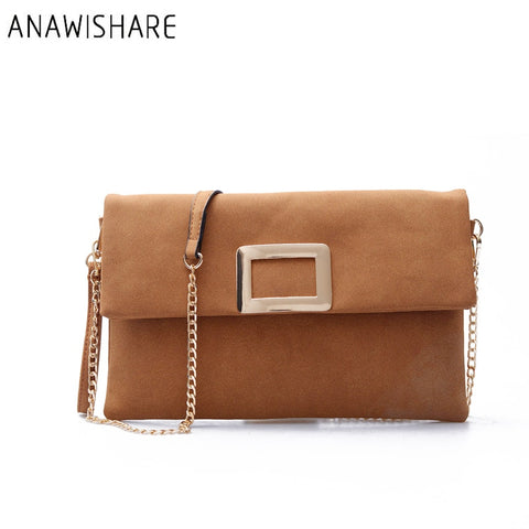 ANAWISHARE Envelope Evening Party Bag