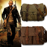 Will Smith Inspired Canvas Messenger Bag
