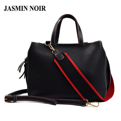 JASMIN NOIR Festive Leather Handbag