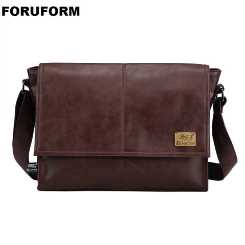 FORURORM 14 Inch Laptop Messenger Bag