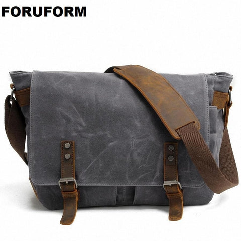 FORUFORM Waterproof Messenger Bag
