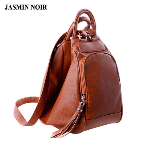 JASMIN NOIR Genuine Leather Handbag