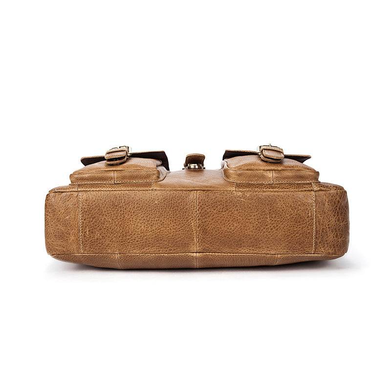 WESTAL Genuine Leather Briefcase