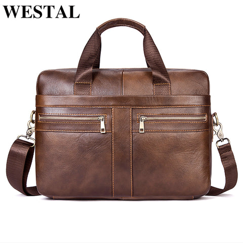 WESTAL Genuine Leather Sling Bag