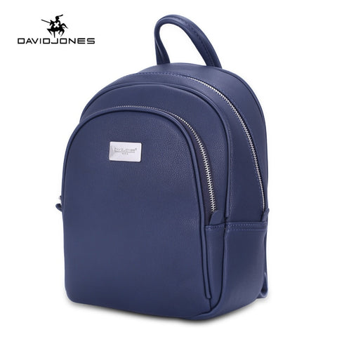 DAVIDJONES Classic Leather Backpack