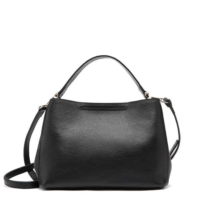 JASMIN NOIR Genuine Leather Crossbody Bag