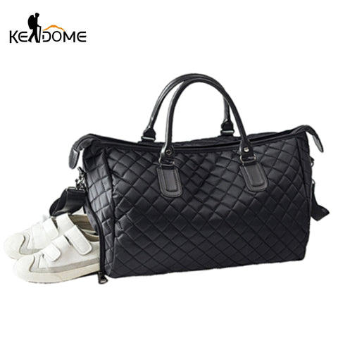 KEDOME Quilted Fitness Bag