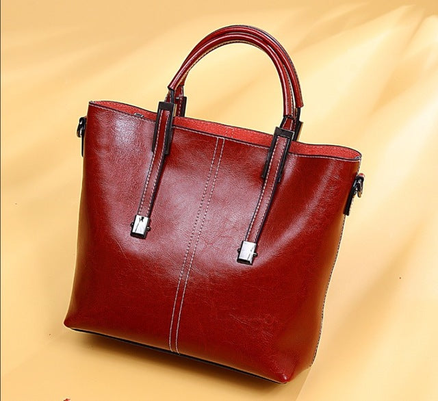 BRIGGS Genuine Leather Business  Bag