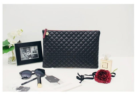 Quilted Envelope Clutch - BagPrime - Look Your Best with Amazing Bags
