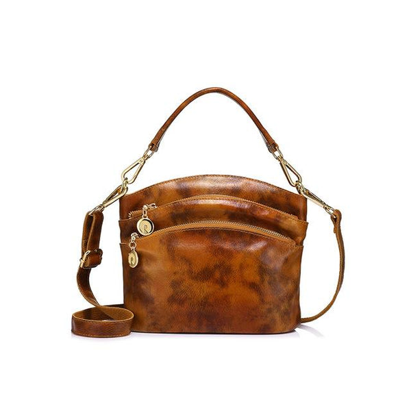 REALER Distressed Retro Sling Bag