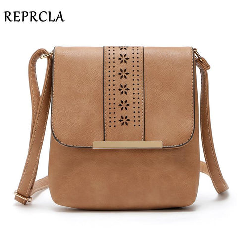 REPRCLA Cut Out Design Messenger Bag - BagPrime - Look Your Best with Amazing Bags