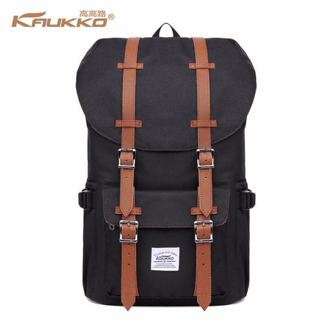 Retro Laptop Backpack-bag-bagprime-Canvas Black-China-BagPrime - Global Prime Bag Fashion Platform