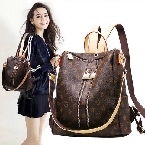 RUOFEI Modern Classic Backpack - BagPrime - Look Your Best with Amazing Bags