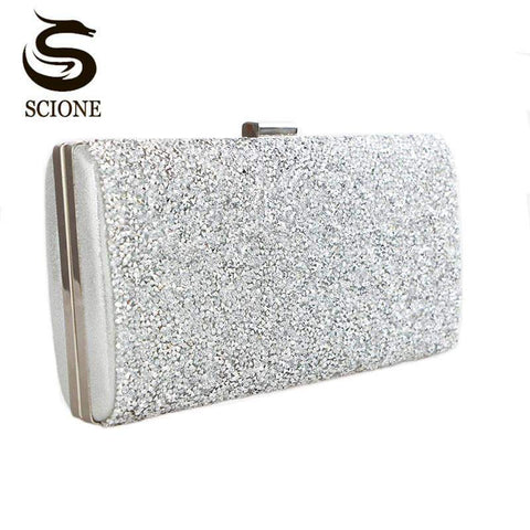 SCIONE Bejeweled Clutch - BagPrime - Look Your Best with Amazing Bags