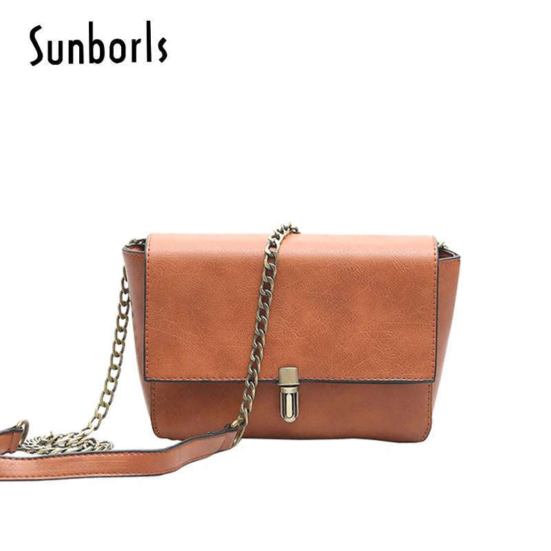SUNBORLS Retro Messenger Bag - BagPrime - Look Your Best with Amazing Bags