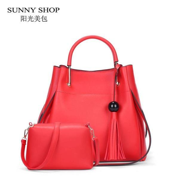 SUNNY SHOP Classic Bucket Bag - BagPrime - Look Your Best with Amazing Bags