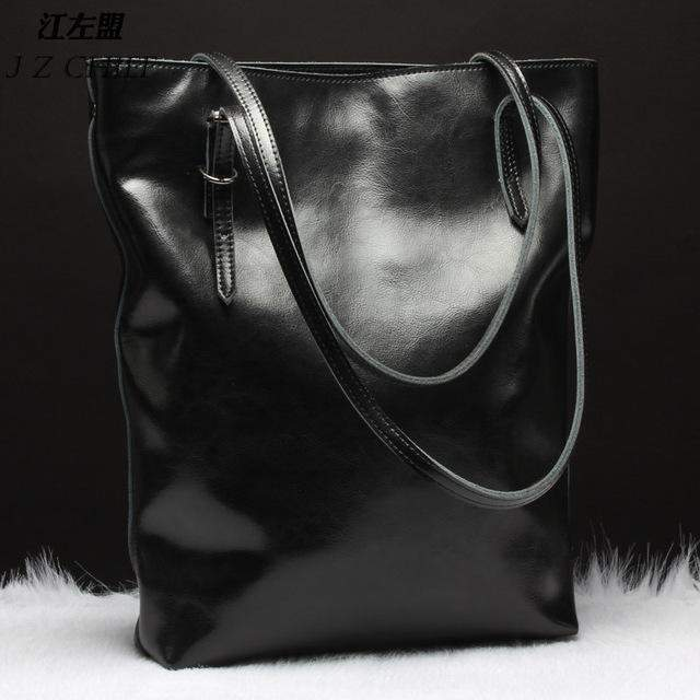 SUNNY SHOP  Leather Tote Bag - BagPrime - Look Your Best with Amazing Bags