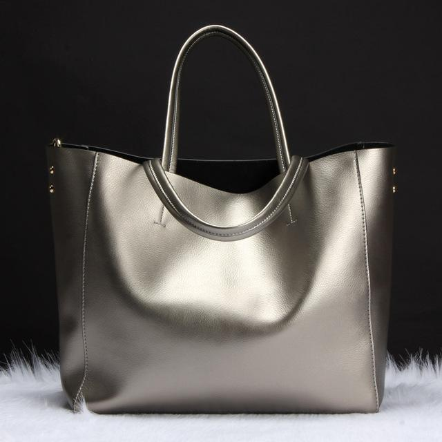 SUNNY SHOP Metallic Tote Bag - BagPrime - Look Your Best with Amazing Bags