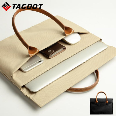 TAGDOT Modern Classic Laptop Bag - BagPrime - Look Your Best with Amazing Bags