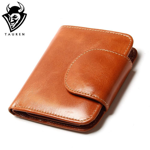 TAUREN Vintage Leather Wallet - BagPrime - Look Your Best with Amazing Bags