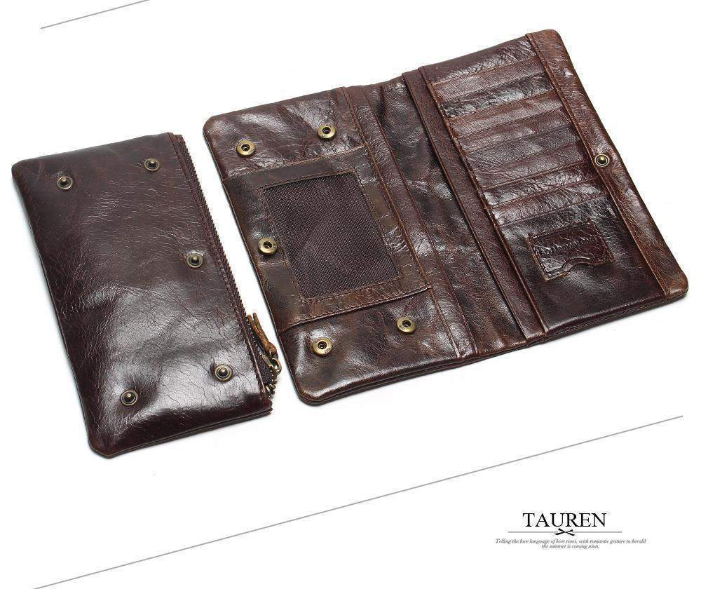 TAUREN Vintage Wallet - BagPrime - Look Your Best with Amazing Bags