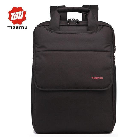 TIGERNU 2018 Cool Canvas Backpack-bag-bagprime-Black-China-BagPrime - Global Prime Bag Fashion Platform
