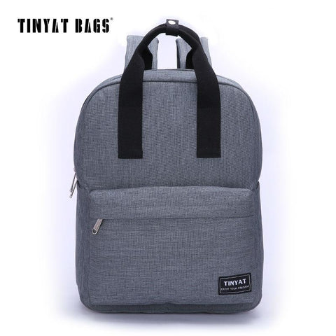 TINYAT Canvas Backpack-bag-BagPrime - Global Prime Bag Fashion Platform-black-China-15 Inches-BagPrime - Global Prime Bag Fashion Platform