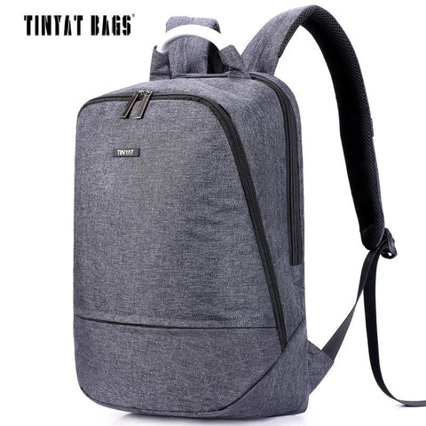 TINYAT Casual Canvas Backpack-bag-BagPrime - Global Prime Bag Fashion Platform-gray-China-BagPrime - Global Prime Bag Fashion Platform