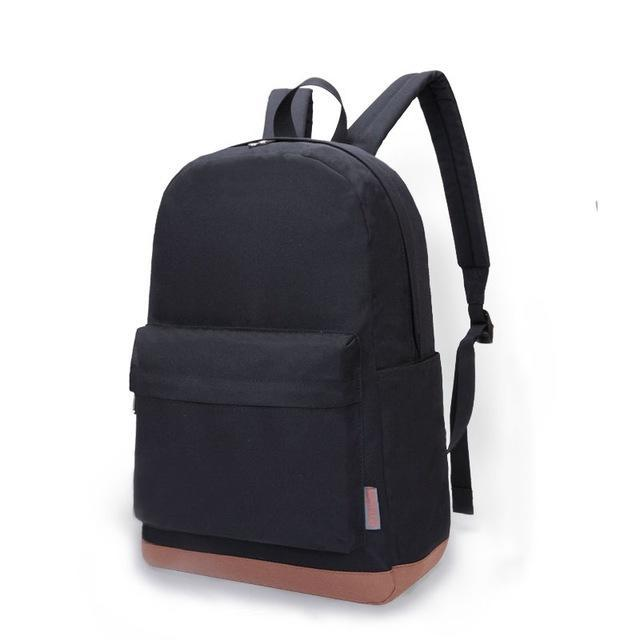 TINYAT Cool Canvas Backpack-bag-BagPrime - Global Prime Bag Fashion Platform-Black-China-BagPrime - Global Prime Bag Fashion Platform