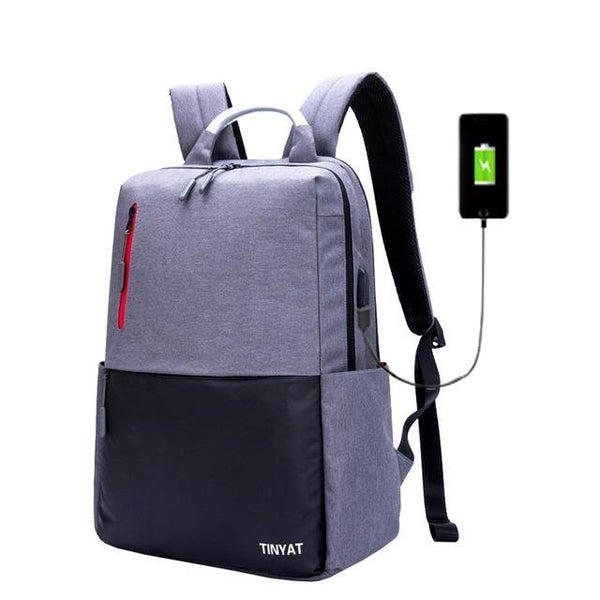 TINYAT Modern Cool Backpack-bag-BagPrime - Global Prime Bag Fashion Platform-Gray-China-BagPrime - Global Prime Bag Fashion Platform