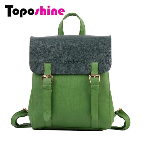 TOPOSHINE Trendy Retro Backpack - BagPrime - Look Your Best with Amazing Bags